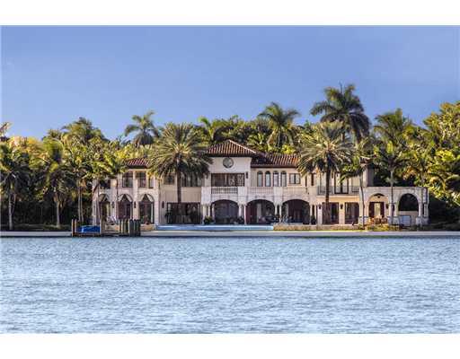Miami Beach Mansions Miami Beach Waterfront Homes Luxury Miami